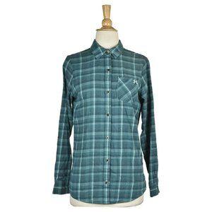 Under Armour Button Down Shirts SM Green